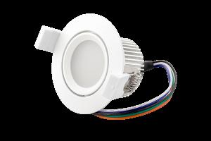 LED Spot RGBW PWM biely Image